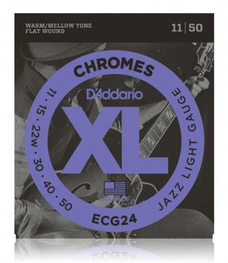 D'Addario ECG 24 Chromes
