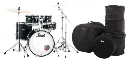 Pearl DMP925S/C227 Decade Maple Satin Slate Black Set inkl. Gigbags