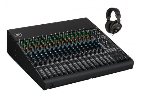 Mackie 1604VLZ4 Mischpult mit Kopfhörer Set