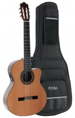 Antonio Calida GC224G CE 4/4 Konzertgitarre Set inkl. Leichtkoffer