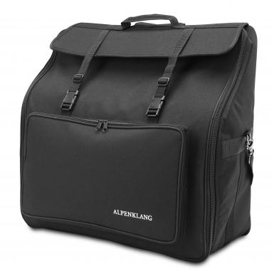 Alpenklang accordion case IV/96, black