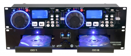 Pronomic CDJ-230 Doppel DJ CD Player mit USB & SD