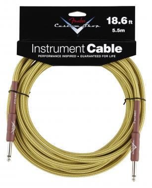Fender Custom Shop Cable Tweed Straight 5,5m