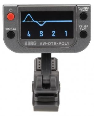 Korg AW-OTB-Poly Clip on Tuner  - Retoure (Zustand: sehr gut)
