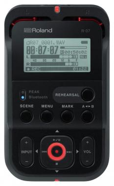 Roland R-07 Handy Recorder schwarz