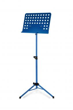 Classic Cantabile Orchesterpult Lochblech Heavy blau
