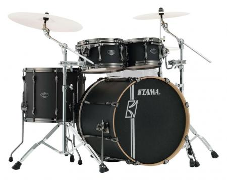 Tama ML42HLZBN-FBK Superstar Hyper-Drive Maple  Drumkit Flat Black