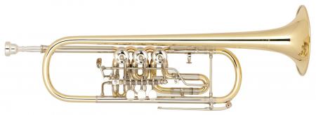 Miraphone Bb-9R Zylindertrompete Messing