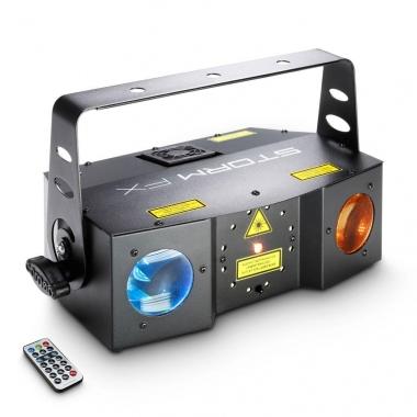Cameo STORM FX Hybrid LED Laser Flower