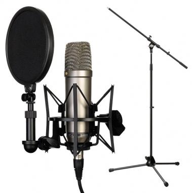 RODE NT1-A Complete Vocal Recording SET inkl. Stativ