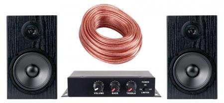 Pronomic MAMP-225i mini amplificateur hi-fi set