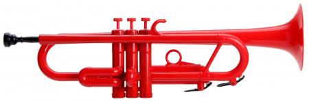 Classic Cantabile TROMBA Sib Jazz trompette en matière plastique rouge