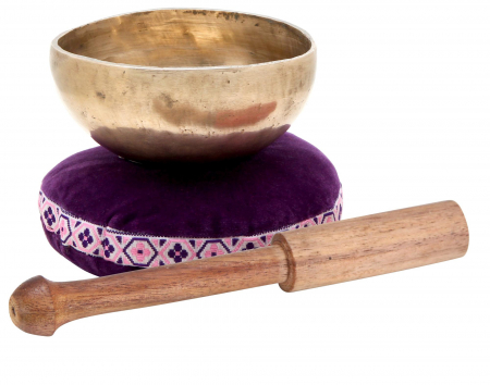 XDrum Tibetan Singing Bowl 10 cm incl. Pillow