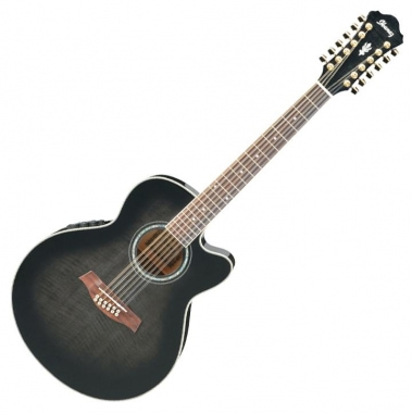 Ibanez AEL2012E-TKS Transparent Black Sunburst