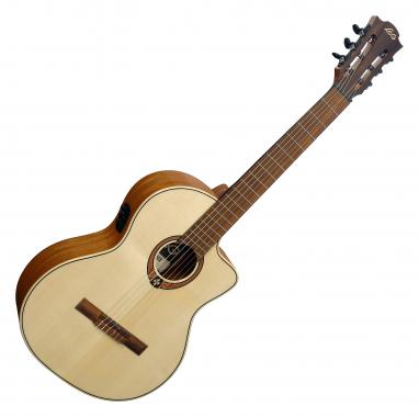 LAG OC88CE Occitania 88 4/4 Konzertgitarre  - Retoure (Zustand: sehr gut)
