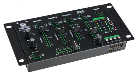 Pronomic DX-50 USB MKII DJ table de mixage à 4 canaux avec Bluetooth