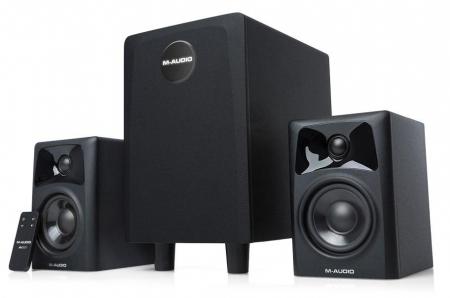 M-Audio AV32.1 Lautsprechersystem  - Retoure (Zustand: sehr gut)