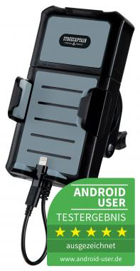 Stagecaptain Joyride Smartphone Holder With Power Bank Function