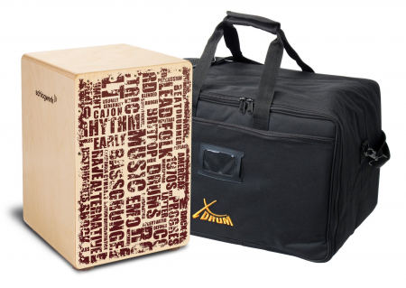 Schlagwerk CP119 Cajon X-One Styles Medium Set inkl. Tasche