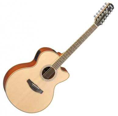 Yamaha CPX 700 II-12 NT Westerngitarre, Natur