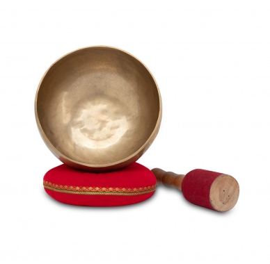 XDrum Omshanti Singing Bowl 17 cm Complete Set