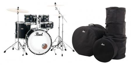 Pearl DMP905/C227 Decade Maple Satin Slate Black Set inkl. Gigbags