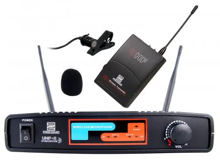 Pronomic UBF-11 Pro Presenter set radio (Lav.) K8 micrófono con clip + UBF-11 set radio de bolsillo
