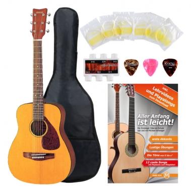 Yamaha JR-1 3/4 Westerngitarre natur SET inkl. 5-teiligem Zubehörset