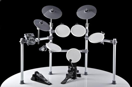 XDrum DD-516 E-Drum Set, weiß  - Retoure (Zustand: sehr gut)