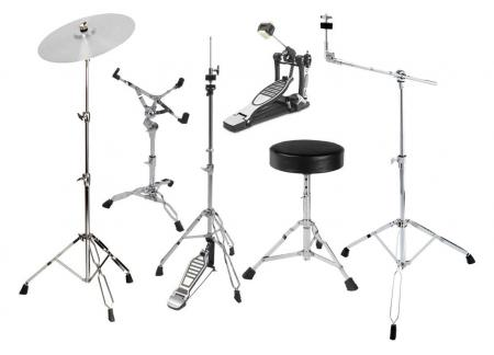 XDrum HP-Semi5S Hardware Pack 6-teilig mit Hocker