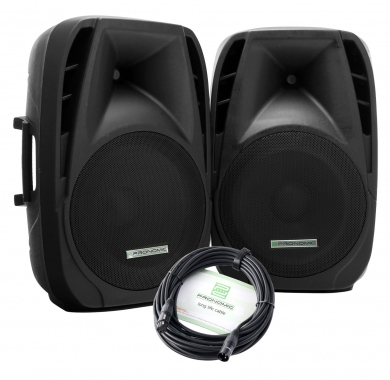 Pronomic PH15 pareja de altavoces activos MP3/Bluetooth 200/350W