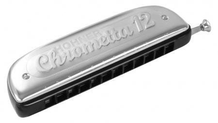 Hohner Chrometta 12 C-Dur Mundharmonika