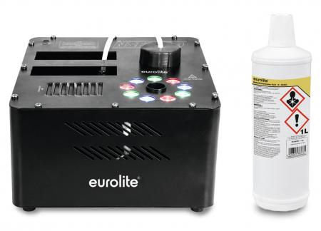 Eurolite NSF-100 LED DMX Hybrid Spray Fogger Set inkl. Smoke Fluid