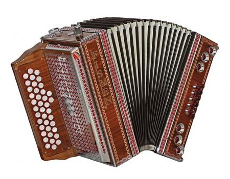 Fismen AlpLine 33 Harmonika Nussbaum