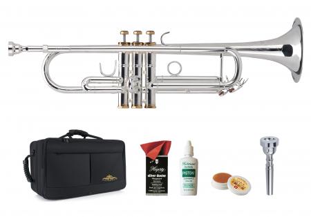 Lechgold TR-16S Bb-Trompete versilbert