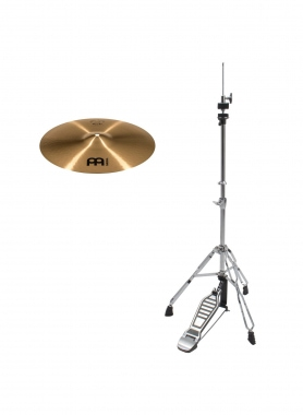 "Meinl Pure Alloy 14"" Medium Hi-Hat Set inkl. HiHat-Maschine"
