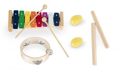 Classic Cantabile children's percussion starter set, 8 pieces