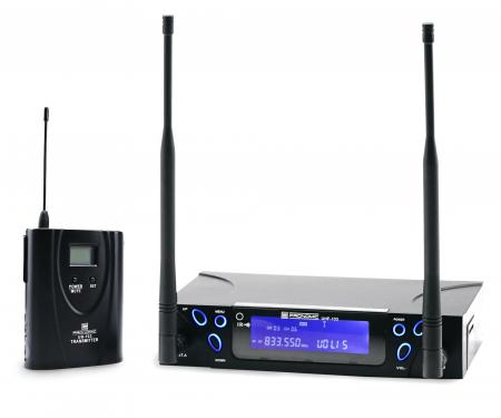 Pronomic UBF-103 True-Diversity émetteur de poche set radio