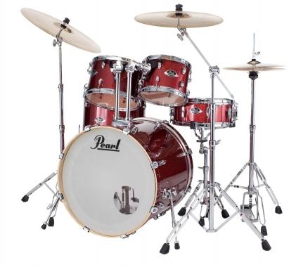Pearl Export EXX725SBR/C704 Drumkit Black Cherry Glitter
