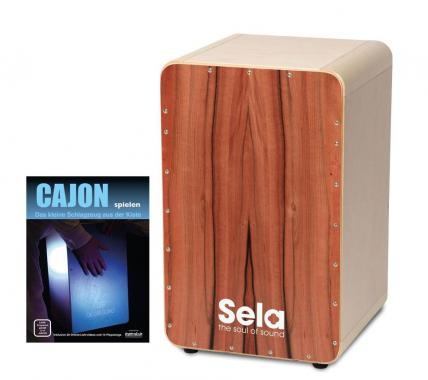Sela CaSela Cajon Bausatz Tineo SET inkl. Cajonschule