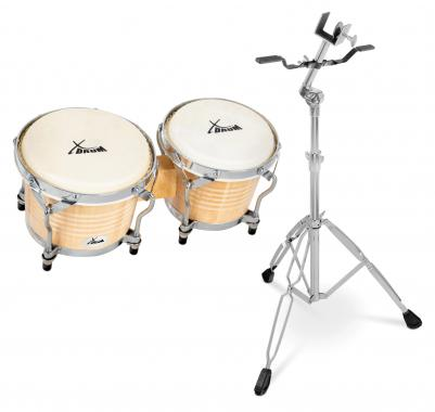 XDrum Bongo Pro SET including Stand