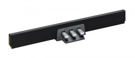 Yamaha LP-255B Pedaleinheit für L-255B Ständer schwarz
