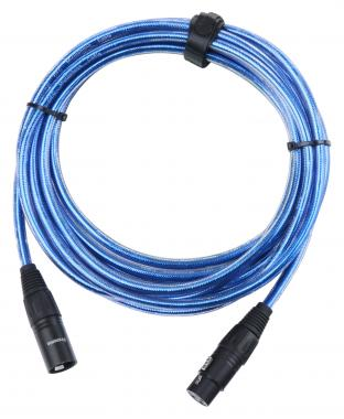 Pronomic Stage XFXM-Blue-5 Microphone Cable XLR Metallic Blue 5 m