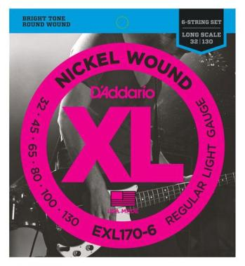 D'Addario EXL170-6 Regular Light 6-string
