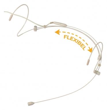 Pronomic HS-31 EA Headset Beige  - Retoure (Zustand: sehr gut)