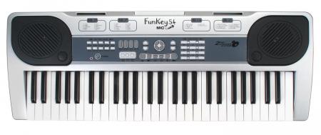 FunKey 54-MIC Keyboard mit Notenhalter und Mikrofon  - Retoure (Zustand: sehr gut)