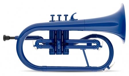 Classic Cantabile MardiBrass bugle Sib en plastique bleu
