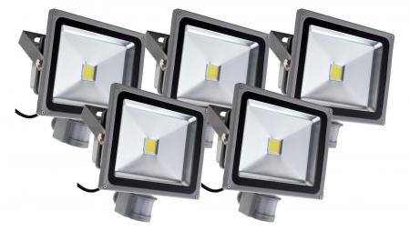 Showlite FL-2030B LED Floodlight IP65 30W 3300 lumen 5-piece SET