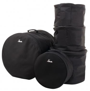 """XDrum set de bolsas para batería, tamaño Fusión: 20"""", 14"""", 12"""", 10"""" y 14,5"""""""