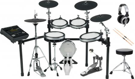 Yamaha DTX920K E-Drum Kit SET 1 mit Hocker, Sticks und Kopfhörer